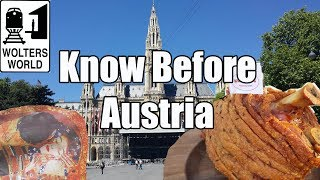 Visit Austria: What You Should Know Before You Visit Austria
