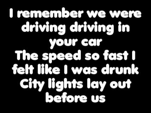 Michael Collings - Fast Car- With Lyrics