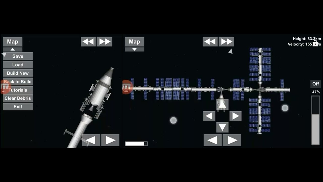 space flight simulator how to get to mars