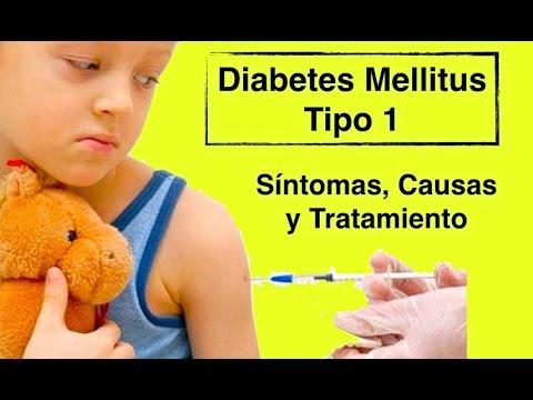 Diabetes Mellitus Tipo 1 - Sintomas, Causas y Tratamiento