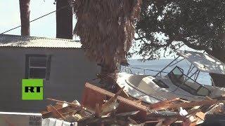 EE.UU.: El histórico huracán Michael arrasa el noroeste de Florida