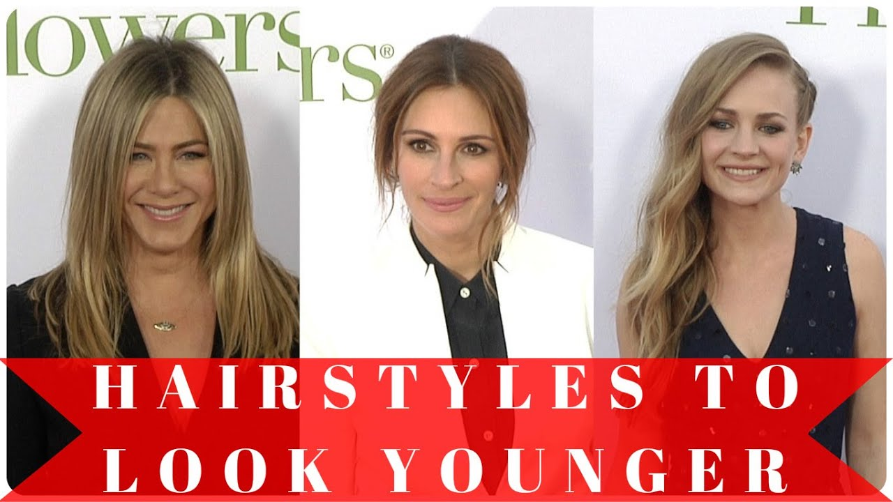 hairstyles to look younger - youtube