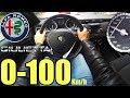 0-100  Alfa Romeo Giulietta 1.4 TB 120cv #1