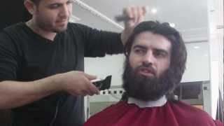 Uzun erkek saçı kesimi