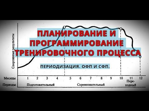Планирование и Программирование тренировочного процесса в Кроссфит.Часть 2. Периодизация. ОФП и СФП.