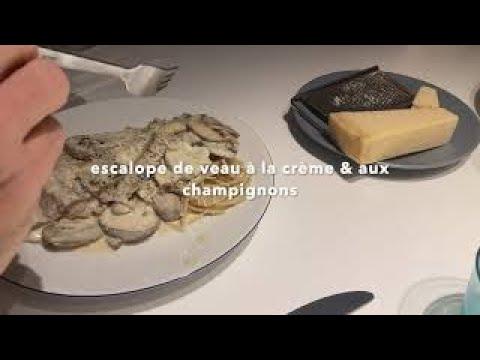 veal-recipe-i-creamiest-veal-&-mushrooms-pasta-i-your-food-lab-recipe-#asmr