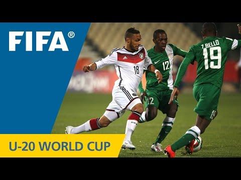 Germany V. Nigeria - Match Highlights FIFA U-20 World Cup New Zealand 2015