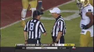 2014 Notre Dame v FSU Pick Play