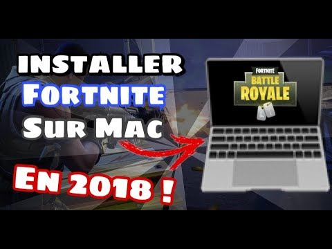 WHO TO INSTALL FORTNITE IN MAC !