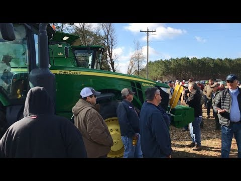 Ronnie Askew Farm Estate Auction Yesterday In Plymouth, NC