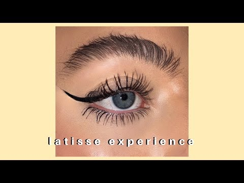 HOW I GOT HUGE EYELASHES AND EYEBROWS *latisse Experience*