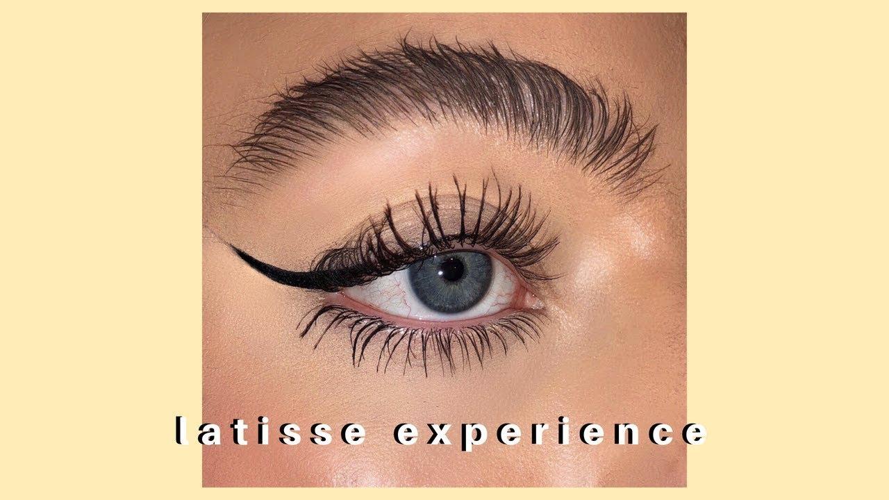 How I Got Huge Eyelashes And Eyebrows Latisse Experience Youtube