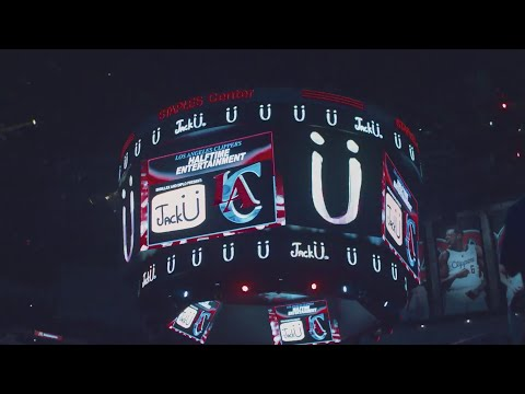 Jack U - Clippers Half Time Performance ft. Kai, Fly Boi Keno, Dinky, Marawa the Amazing and more