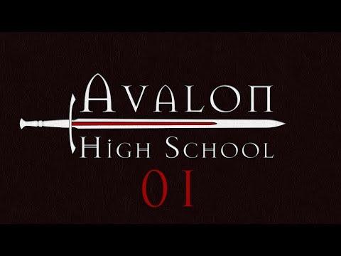 Avalon High School Roll4It #01 LAKE PARTY - Arthurian Legend Monsterhearts