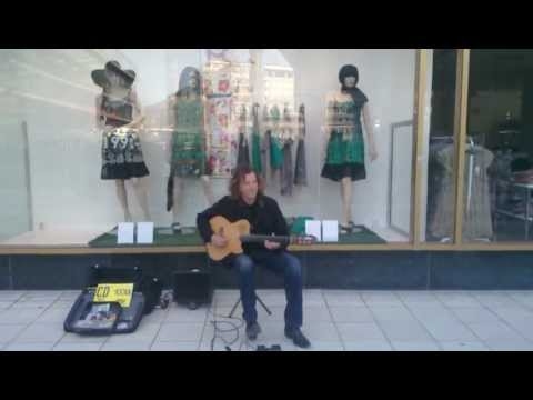 Street musician in Stockholm -3-guitar player Eugenio Martinez ,Stairway to Heaven (Led Zeppelin ) mp3 download