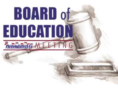 School Board Meeting- April 4, 2017