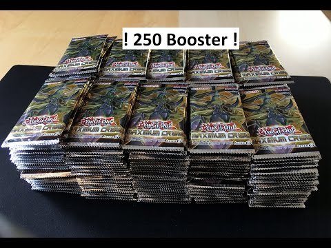 BIGGEST 250 Yu-Gi-Oh Maxmium Crisis Booster Opening ON YOUTUBE!