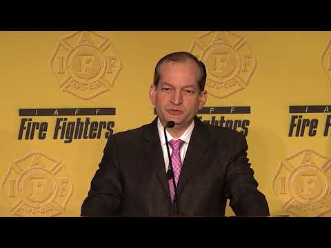 The Honorable R. Alexander Acosta, Secretary, Department of Labor