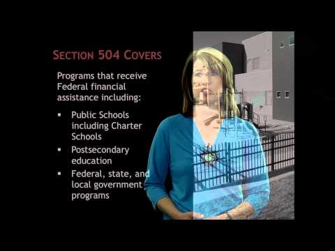Variations Between Section 504 and IDEA