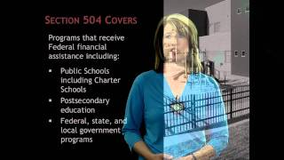 Section 504 - What is Section 504?
