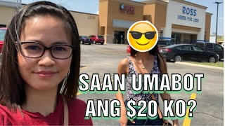 SAAN AABOT ANG $20 CHALLENGE | ROSS AND GOODWILL