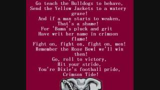 Alabama Crimson Tide Fight Song