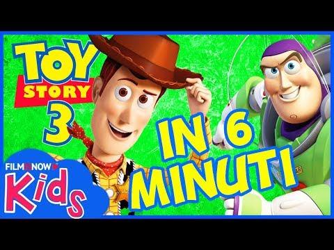 TOY STORY 3 | Raccontato in 6 Minuti - Film Disney Pixar