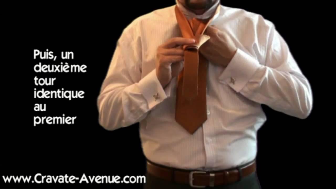 le noeud de cravate double apprendre faire un noeud de cravate parfait youtube. Black Bedroom Furniture Sets. Home Design Ideas