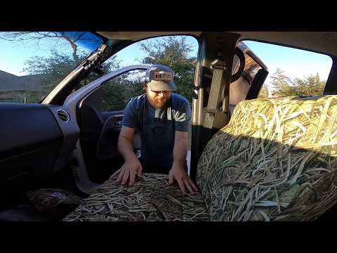 Sportsman Camo Covers Install And Review Mossy Oak Blades