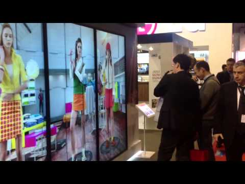 ISE in Amsterdam: Digital Signage for Fashion industry