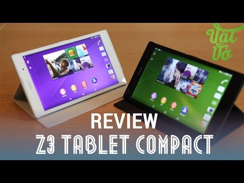 [Review dạo] Đánh giá chi tiết Sony Xperia Z3 Tablet Compact