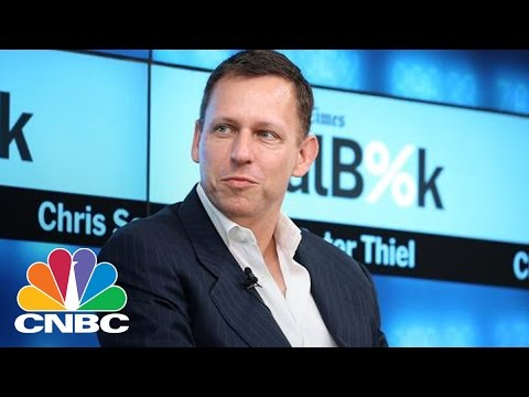 Peter Thiel Speaks About Donald Trump Support In DC | CNBC