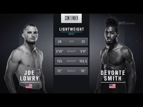 FREE FIGHT   Quick Elbows From Smith Secure Victory   DWTNCS Week 8 Contract Winner - Season 2