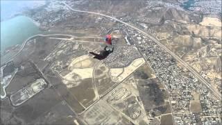 Armenian Flag Tribute Skydive at Elsinore