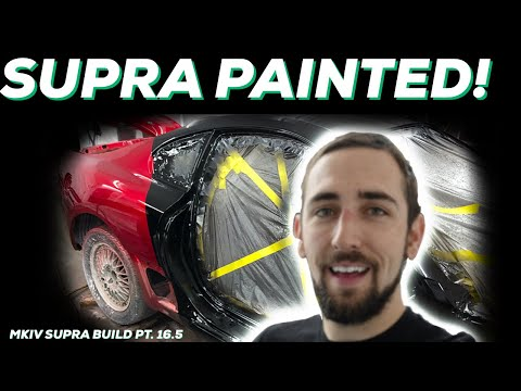 PT.16.5 MKIV Supra Build! | IT'S PAINTED MotionAutoTv STYLE!