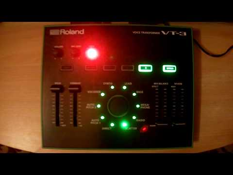 Roland VT 3 Issue