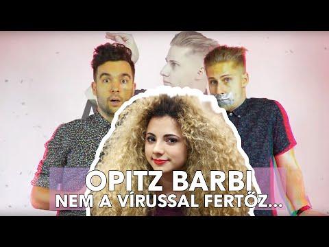 Opitz Barbi nem a vírussal fertőz...