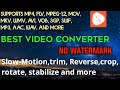 The best converter , cutter , slowmo , reverse ,joiner , to mp3 , mp3 cutter  PRO