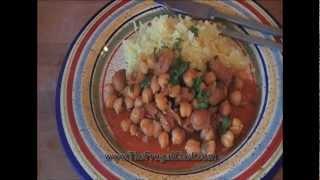 Garbanzo (chickpea) & Sausage Stew Recipe