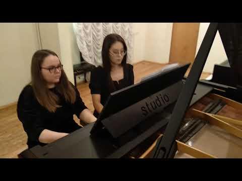 """Раков """"Русская пляска"""" для фортепиано в четыре руки"""