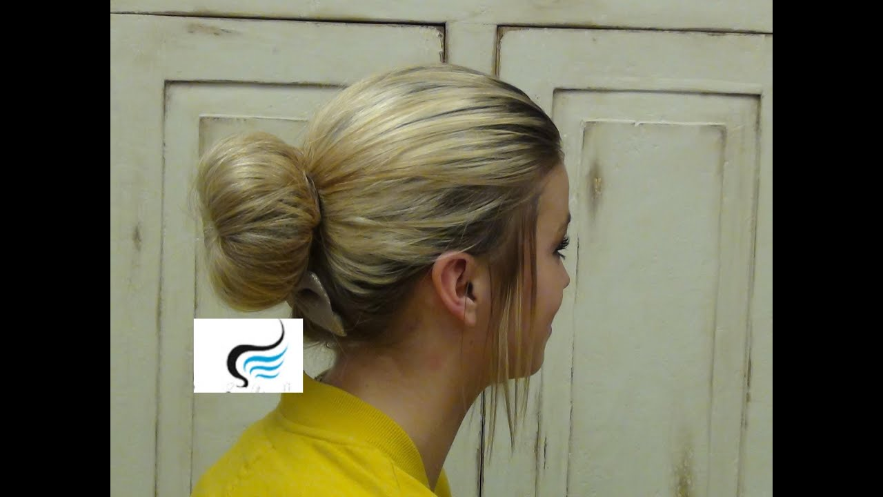 How To Do Low Sock Bun Hairstyles Youtube