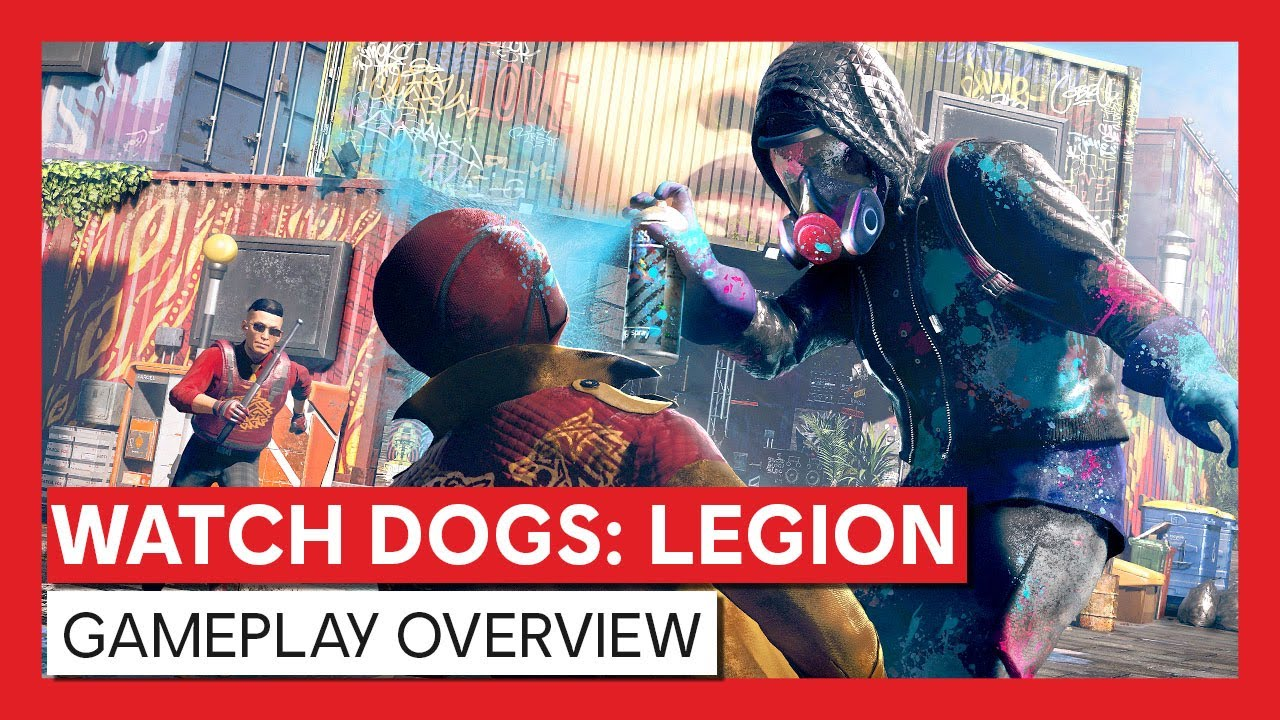WATCH DOGS®: LEGION NOW AVAILABLE. MASK UP AND JOIN THE RESISTANCE.