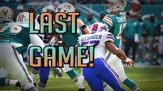 LAST GAME! MIAMI DOLPHINS VS BUFFALO BILLS PREVIEW + Q/A Details! |@1KFLeXin |Dolphins Fan