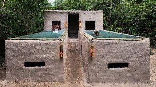 Unbelievable! Build Twin Swimming Pool On The Ancient Clay House