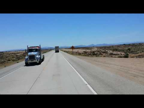 Trucking Across The Mojave Desert