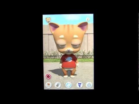 Talking Tibbs The Cat IPhone App Review (FREE Apps) - CrazyMikesapps