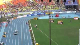 Чемпионат мира по лёгкой атленике 2013, IAAF, мужчины 10000м, 2 круга перед финишем