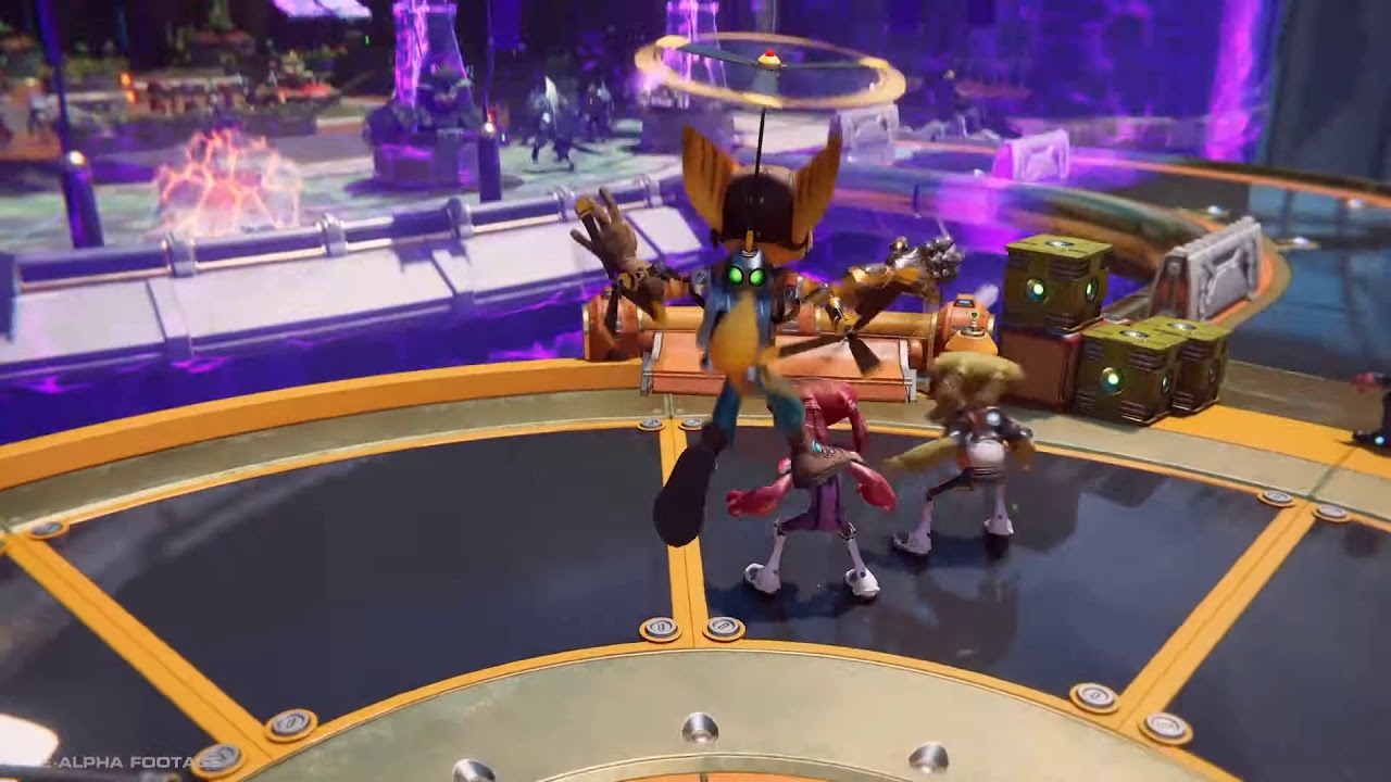 Ratchet Clank Rift Apart Seems To Have A Female Lombax