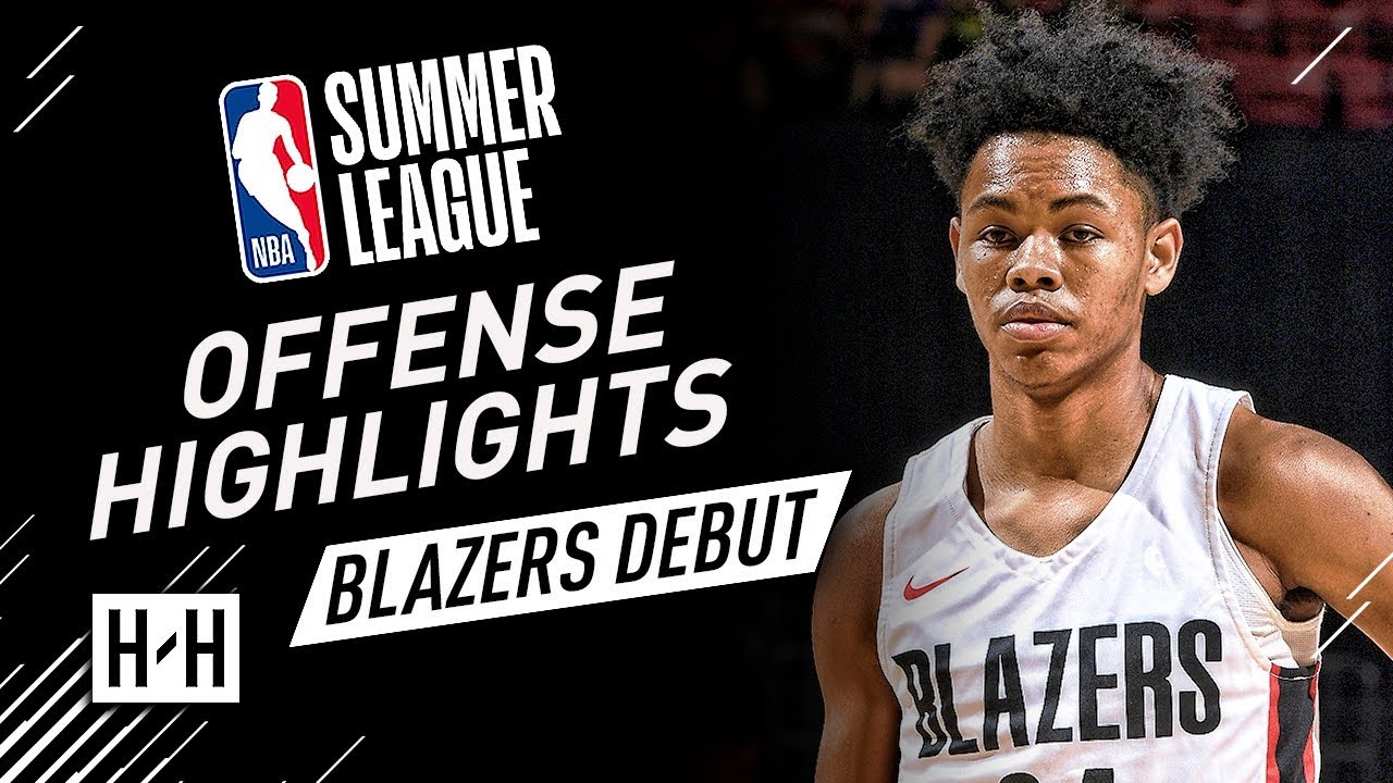 reputable site 1ef15 66ffc Anfernee Simons Full Offense Highlights at 2018 NBA Summer League - Trail  Blazers Debut!