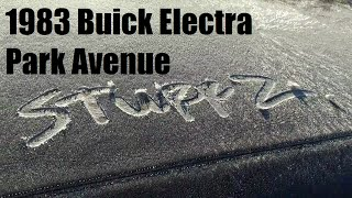 1983 Buick Electra Park Avenue first frost 2016